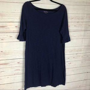 Lilly Pulitzer Ruffle Sleeve Tee Shirt Dress Sz XL